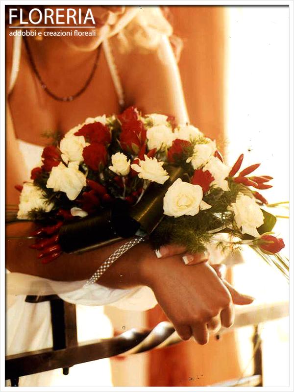 Bouqut sposa, peperoncino a cirié